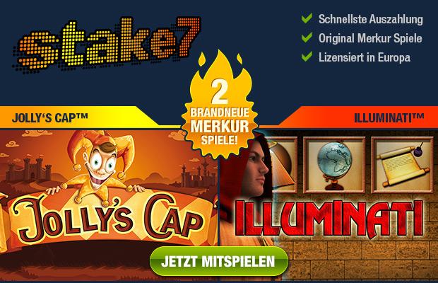 Merkur Jokers Cap Jollys Cap online spielen