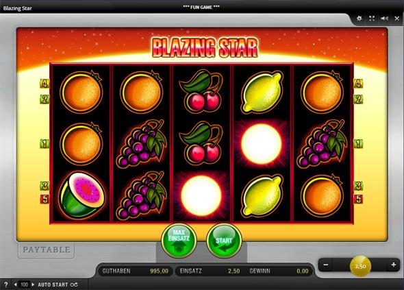 Merkur Blazing Star online spielen
