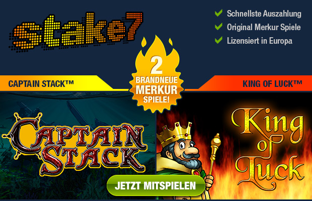 Merkur Captain Stack Merkur King of Luck Spielautomat online spielen
