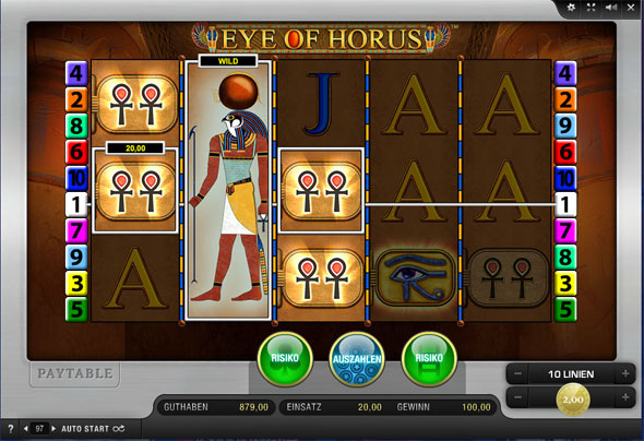Merkur Eye of Horus spielen
