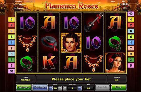 Novoline Flamenco Roses Merkur El Torero Clone Spielautomat