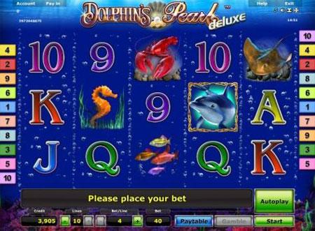 Novoline Dolphins Pearl Deluxe online spielen Spielautomat
