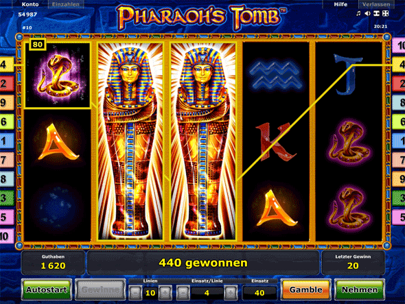 Pharaos Tomb App Android iPhone