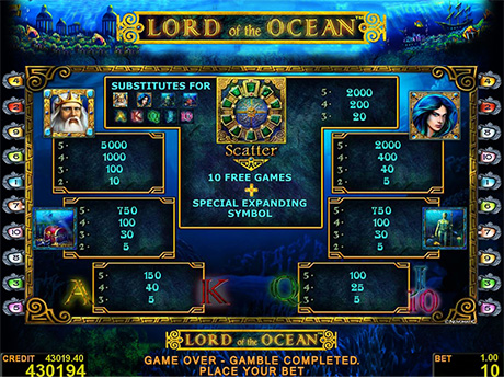 online casino freispiele lord of ocean tricks